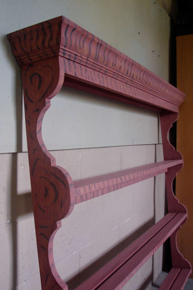 Download Wall Display Shelf Plans Plans Diy General Finishes Wood Stain Raspy24zvb