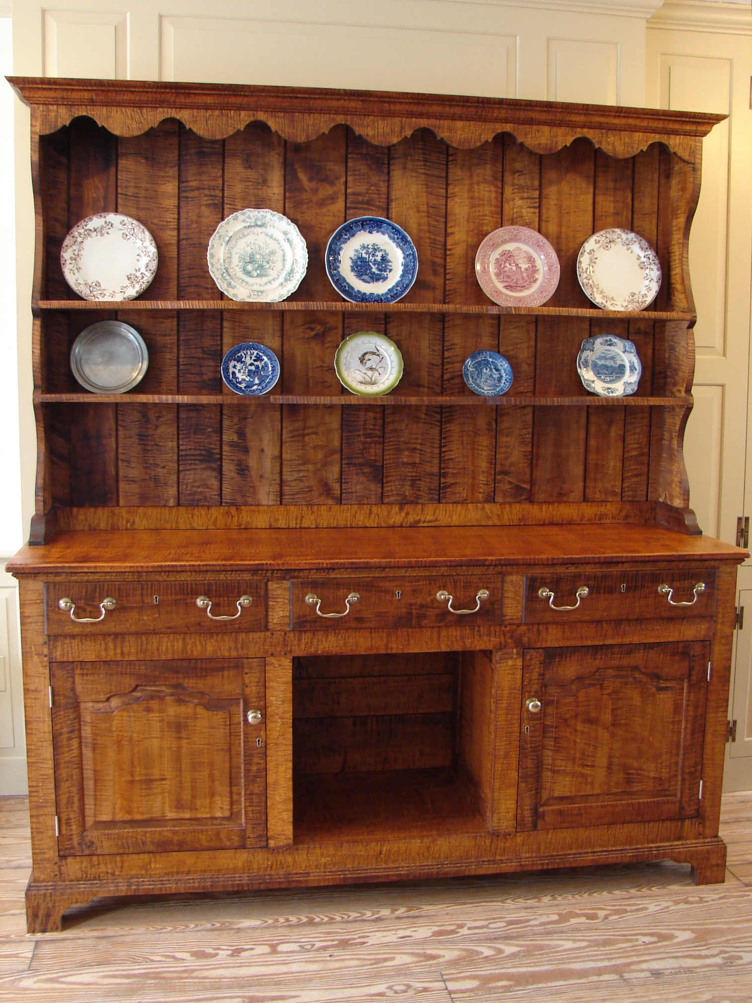 Kitchen dresser woodworking plans